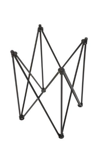 Carrom Tisch - Top Qualität Carrom Ständer für alle Carrom Boards - ohne Brett nur Tisch inkl. Tasche - Faltbar - Tragetasche - Metall - Top