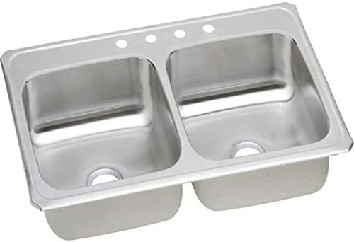 Elkay At the price CR33214 Sink shop Four-Hole Celebrity Bright