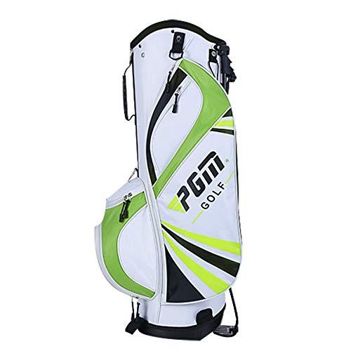 Golfschlägertasche Mit Standbeutel, Männliche und weibliche Vereine Stehen mit 6 getrennten Steckdosen. Der Kurs Golftasche mit Griffen, Junior Golfausrüstung ist Ultraleicht tragbar