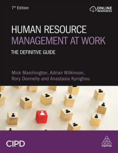 Human Resource Management at Work: The Definitive Guide, 7th Edition Front Cover