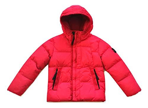 Stone Island Junior Daunenjacke für Kinder 691640133.V0010 rot, Rot 6 Jahre
