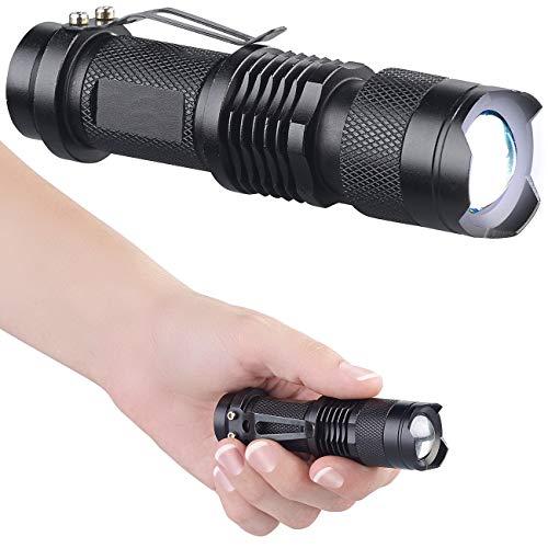 PEARL LED Lampe: Taschenlampe mit 3-Watt-Cree-LED & 3 Leuchtmodi, 150 lm, fokussierbar (einfache Taschenlampe)