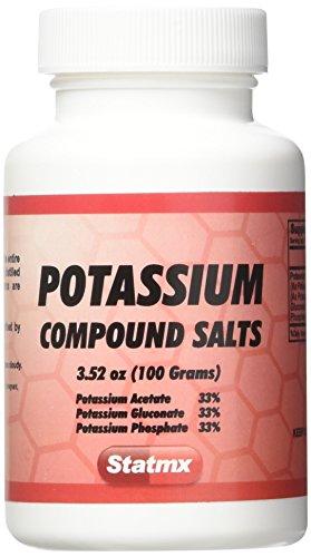 Statmx Potassium COMPOUND SALTS 100 grams (for daily Juices or enemas)