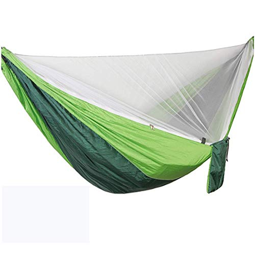 Hammock Camping Outdoor Use Hammock Automatic Speed-Open Anti-Mosquito Hammock Outdoor Single And Double Parachute Hammock Anti-Insect Hammock With Mosquito Net