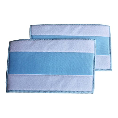 IDS 2 Pieces Replacement Washable mop pad for HAAN SI-25 SI-40 SI-70 SI-45 SI-60