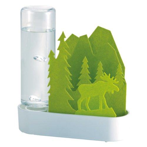 積水樹脂自然気化式ECO加湿器うるおいちいさな森エルク‐グリーンULT-EL-GR