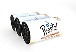 Amazon Brand - Presto! Oxo-Biodegradable Garbage Bags