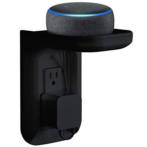Made for Amazon Outlet Shelf for Amazon Echo Devices - Black