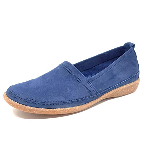 ACO Cindy 04 Damen Slipper in Blau, Größe 40