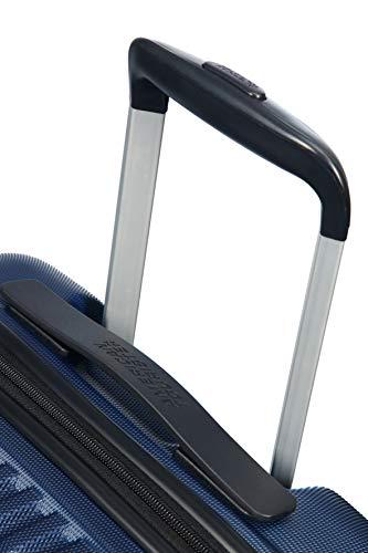 American Tourister Tracklite - Spinner Piccolo Bagaglio a Mano, S (55 cm - 34 L), Blu (Dark Navy)