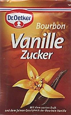 Dr. Oetker Bourbon Vanille Zucker, 3 x 8 g