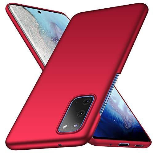 deconext Galaxy S20 Hülle, Schutzhülle Tasche Schlicht-Dünn-Leichte Seidiges Gefühl PC Slim Handyhülle Matt Hardcase für Samsung Galaxy S20(2020) 6,2