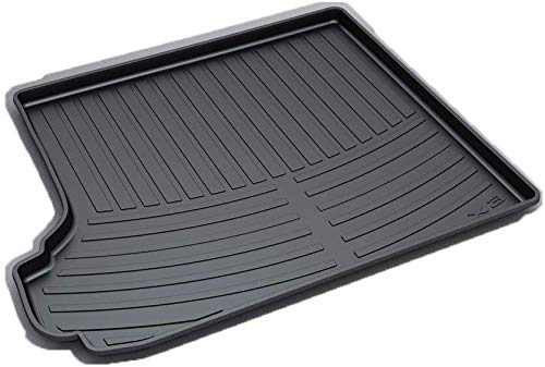 QIANSHI Trunk mat Protection Cargo Mat/Trunk Liner (Custom Tailored) Fit for B-MW X3 2009-2011 All Season Cargo Tray,Black,Colour:Black Rear luggage cushion (Color : Black)