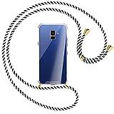 mtb more energy® Chaîne de téléphone portable compatible avec Samsung Galaxy A8 2018 (SM-A530,...