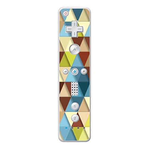 Disagu Design Skin für Nintendo Wii Controller Design Folie - Motiv Bunte Dreiecke 2