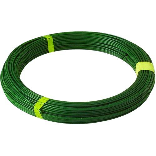 Bobine 100 mètres de fils de tension vert extrude diamètre 2.4 mm
