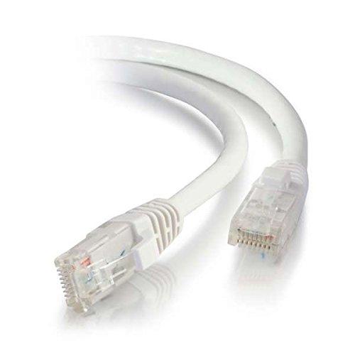 Cable de Red sin blindaje (UTP) de 3 m Cat5e para impresoras de Color Naranja 0,3 m Blanco