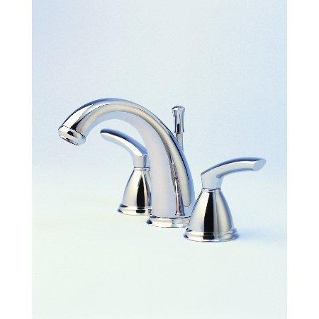 Santec Faucets 4120BL75 Santec Widespread Lavatory Satin Nickel