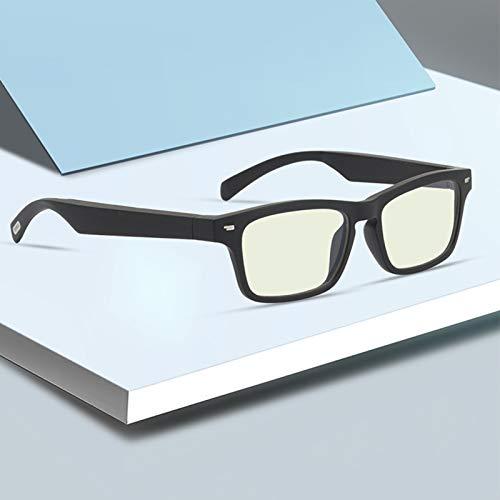YLJXXY Gafas de Sol Inteligentes, Auriculares inalámbricos con Bluetooth para conducción ósea, Golf Beisbol Surf Conducción Esquiando