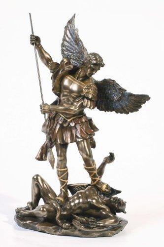 * * * * * * * * * * * * * * * * SALE – Archange Saint St Michael Statue Sculpture magnifique