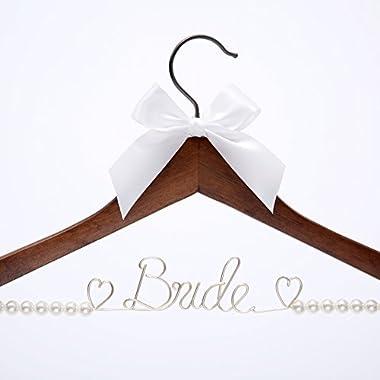 Wedding Dress Hanger Bride Hanger Wire hanger Bridal Gift