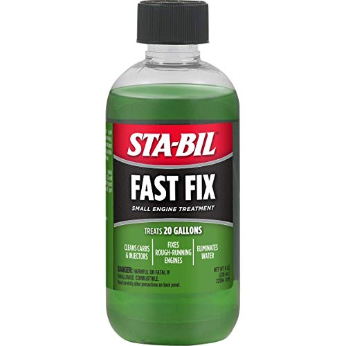 STA-BIL (22304 Fast Small Treatment-Cleans Carbs and Injectors-Fixes Rough Running Engines-Treats 20 Gallons, 8 fl. oz, 8. Fluid_Ounces
