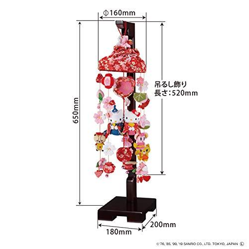 サンヨープレジャー寿慶『ハローキティ桜の吊るし雛』