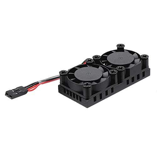 KEPUSHIYE Electronic Element Junta de Doble Ventilador del radiador Desarrollo 51 * 25 * 13 mm CPU refrigeración por Aire de Calor...