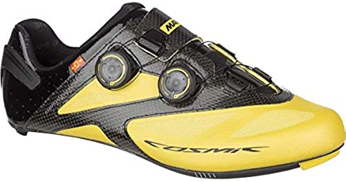 Mavic Cosmic Ultimate Maxi Rennrad Fahrrad Schuhe gelb Schwarz2017