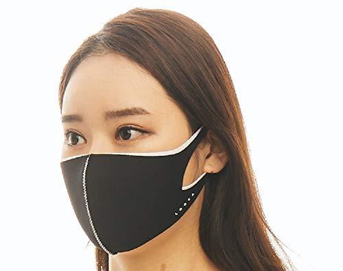 LOOKA ルカ デザイン マスク デュアル │ 洗える 耳 痛くない 肌荒れしない 韓国 快適 立体 小顔