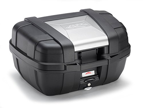 Kappa KGR52 Garda Monokey Baúl, 52 Litros de Volumen, con Cover de Aluminio, 10 Kg de Carga