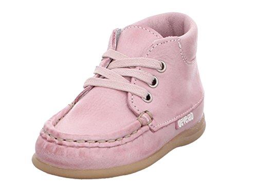 Develab Mädchen Lauflernschuhe Schnürschuh Leder pink Gr. 24
