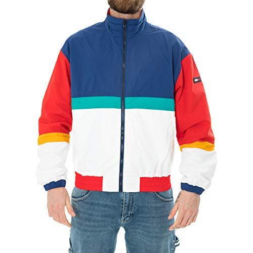 Tommy Hilfiger TJM Pieced Jacket Chaqueta, Azul (Limoges/Multi 434),...