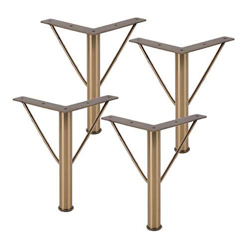 LMZJLU Patas de Muebles Patas de Mesa de Metal Patas de Muebles Patas de Cocina de Acero Inoxidable Patas de Repuesto para Muebles Patas de sofá Patas de sofá Patas de Escritorio Armarios de Cama E