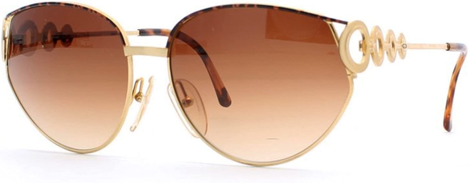 Christian Dior 2750 41 Brown and gold Authentic Women Vintage Sunglasses