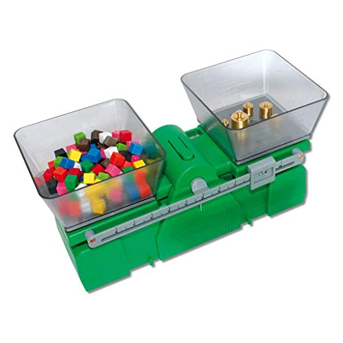 Mechanische Waage aus Kunststoff, grammgenaue Waage bis 2kg ׀ Wiemann Lehrmittel