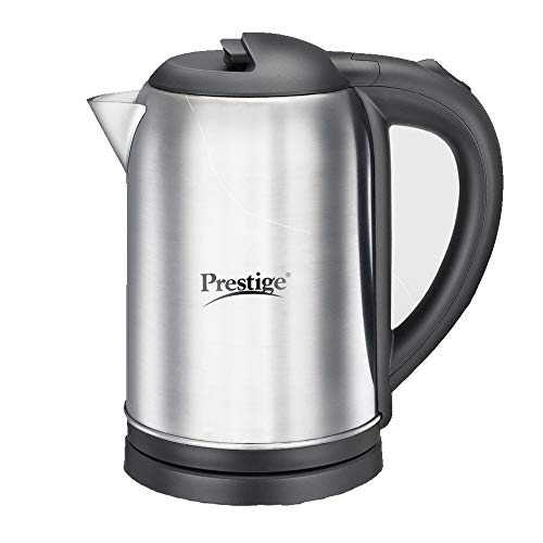 Prestige PKNSS Electric Kettle, Silver, 1.0 L