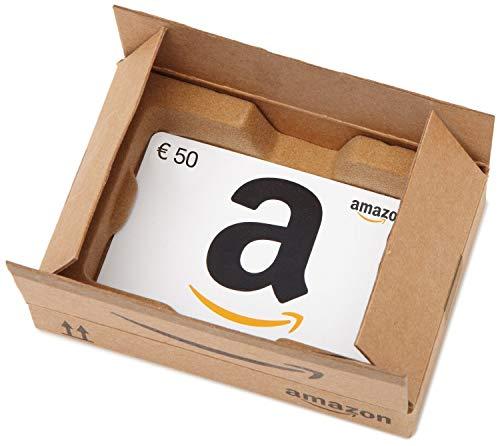 Carte cadeau Amazon.fr - €50 - Dans un coffret Boîte