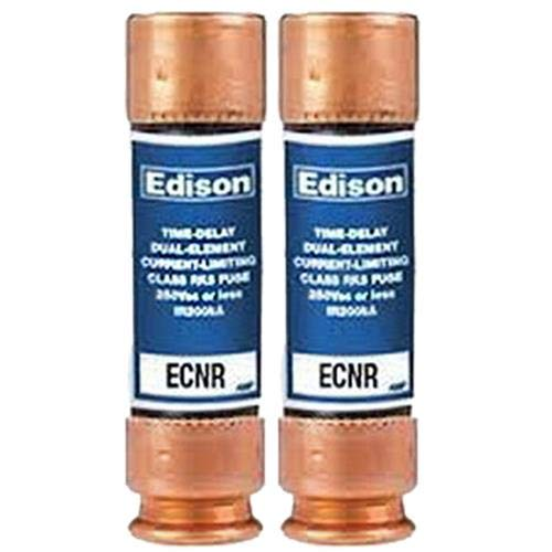 (2 Pack) Compatible Replacement for Littlefuse FLNR-30 - Edison Time Delay Fuse - 30 Amp 250V - RK5 Dual Element