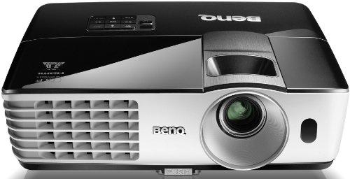 BenQ MX662 DLP-Projektor (New 3D 144Hz Triple Flash, XGA, Kontrast 13000:1, 1024 x 768 Pixel, 3500 ANSI Lumen, Wireless Display, HDMI, 3D via HDMI, Smart Eco, Long Life Lampe) incl. W-LAN Dongle schwarz