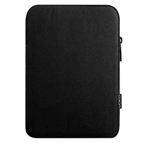 MoKo Funda de Tableta Compatible con 7-8 Inch Tablet, Tablet Sleeve Bag de Tela de Poliéster Protector Portátil Compatible con iPad Mini (5th Gen) 7.9' 2019, iPad Mini 1/2 / 3/4 - Negro
