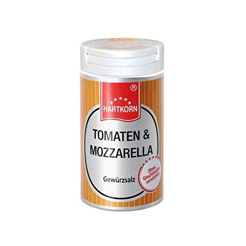 Tomaten & Mozzarella-Gewürz - 30 g im Aluminium Gewürzstreuer von Hartkorn - wiederverschließbar und wiederbefüllbar