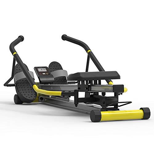Thuis Roeimachine Weerstand Verstelbare Fitness Apparatuur Simuleert Echte Roeien Spiertraining