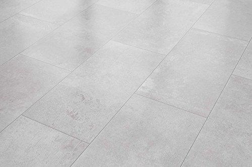 VisioGrande Laminat Autentico Fliese Zementestrich Beige 8 mm