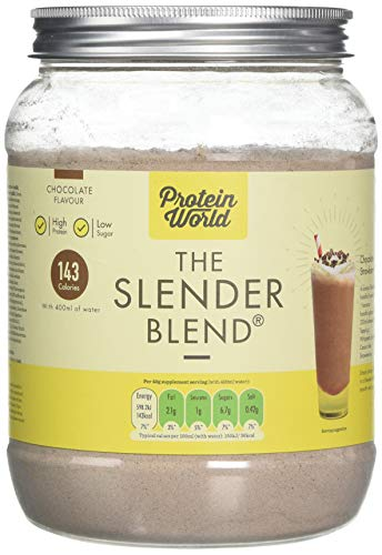 Protein World - The Slender Blend Weight Loss Meal Replacement Shake - 600g Chocolate