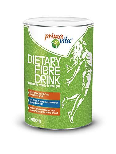 Primavita - Batido de fibra para una buena función intestinal, 400g (16 raciones)