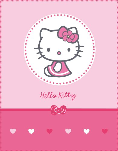 CTI 039416 Fleece Decke Hello Kitty Mathilda / 110 x 140 cm