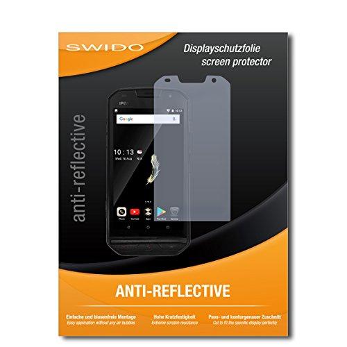 SWIDO Schutzfolie für Doogee S30 [2 Stück] Anti-Reflex MATT Entspiegelnd, Hoher Festigkeitgrad, Schutz vor Kratzer/Bildschirmschutz, Bildschirmschutzfolie, Panzerglas-Folie
