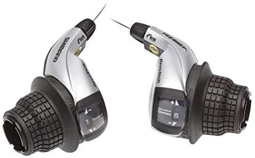 Shimano Mtb Sin Grupo SLRS45P8A - Mandos Revoshift Rs45 C/Fundas, 8 Velocidades