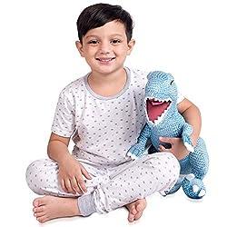 3. Franco Kids Soft Plush Jurassic World Cuddle Pillow Buddy